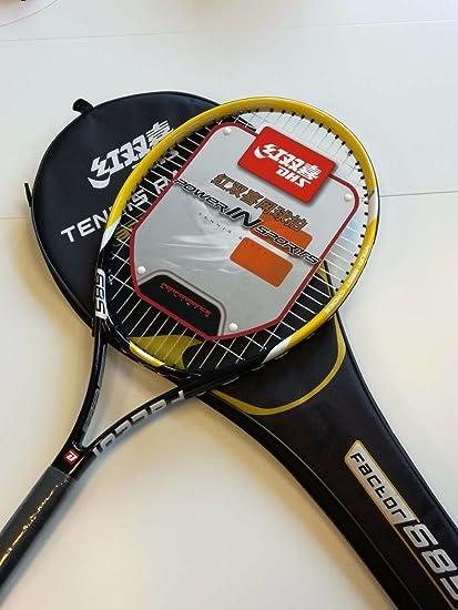 DHS Tennis Racket Palo de Factor 685 Naranja/Negro