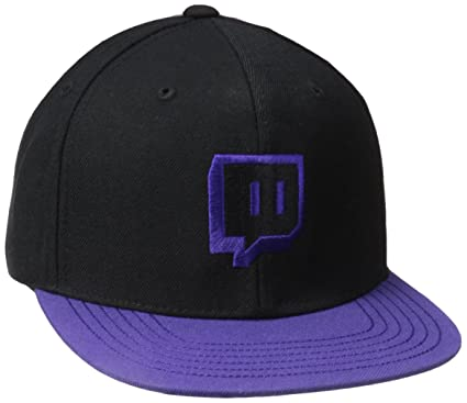 f6c0775c09a Amazon.com  Glitch Emote Snapback  Clothing
