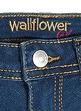WallFlower Girl's Skinny Soft Strech Jeans, Dark