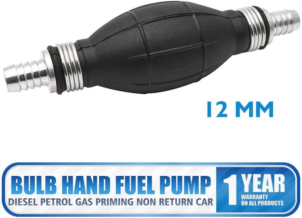 Kraftstoffpumpball Anschluss Ø 8 mm Pumpball Benzinpumpe für Aussenborder