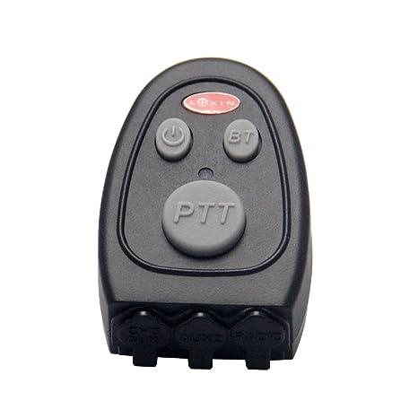 LEXIN Motocicleta BT 4.0 Bluetooth Dongle para Two-way radio/GPS/detector de