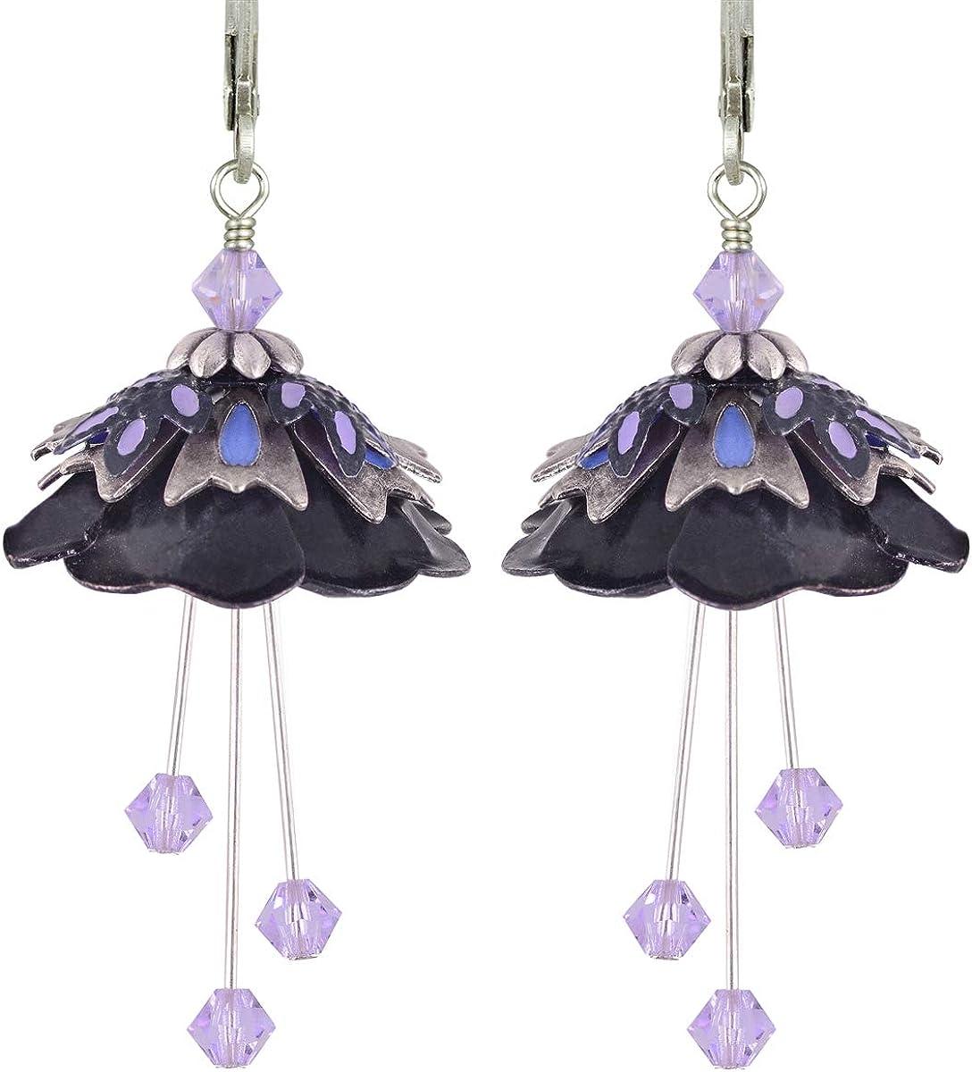 Flower Fairy HP33MB1 Earrings By No Monet Free Shipping Wild Flower