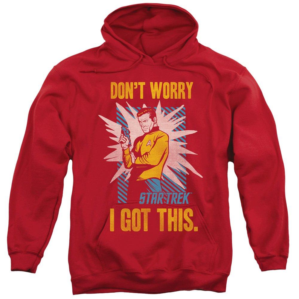 2Bhip ursprüngliche fernsehserie kirk bekam ich diesen comic hoodie für Herren