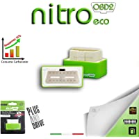 Nitro Eco Module additionnel épargne carburant auto Essence OBD2 Chip Tuning Universel