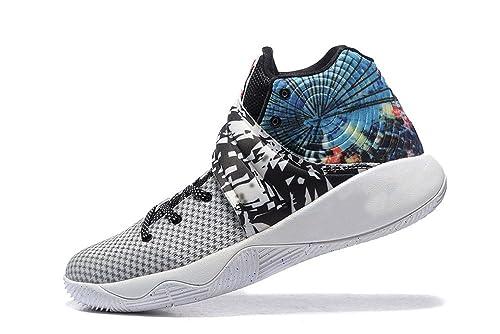 quality design dce0e 1a875 ... promo code for kyrie 2 effect mens high top basketball shoe grey white  mens9.5