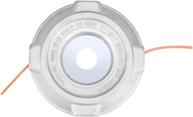 Profesional Universal del Condensador de Ajuste del Engranaje Cabeza de Caja de Aluminio Strimmer Cabezal de Corte Heads Cadena Conjunto de la Hierba desbrozadora de Accesorios Cuerda de Nylon Cuerda: Amazon.es: Hogar