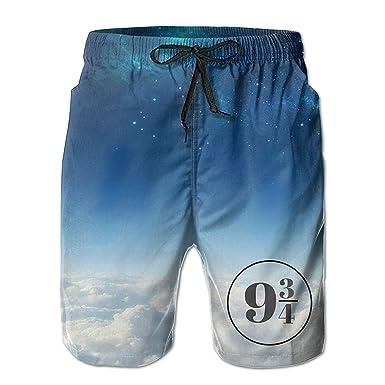 4171e06a5739b Amazon.com: Nine and Three Quarters Men's Quick-Dry Beach Shorts ...