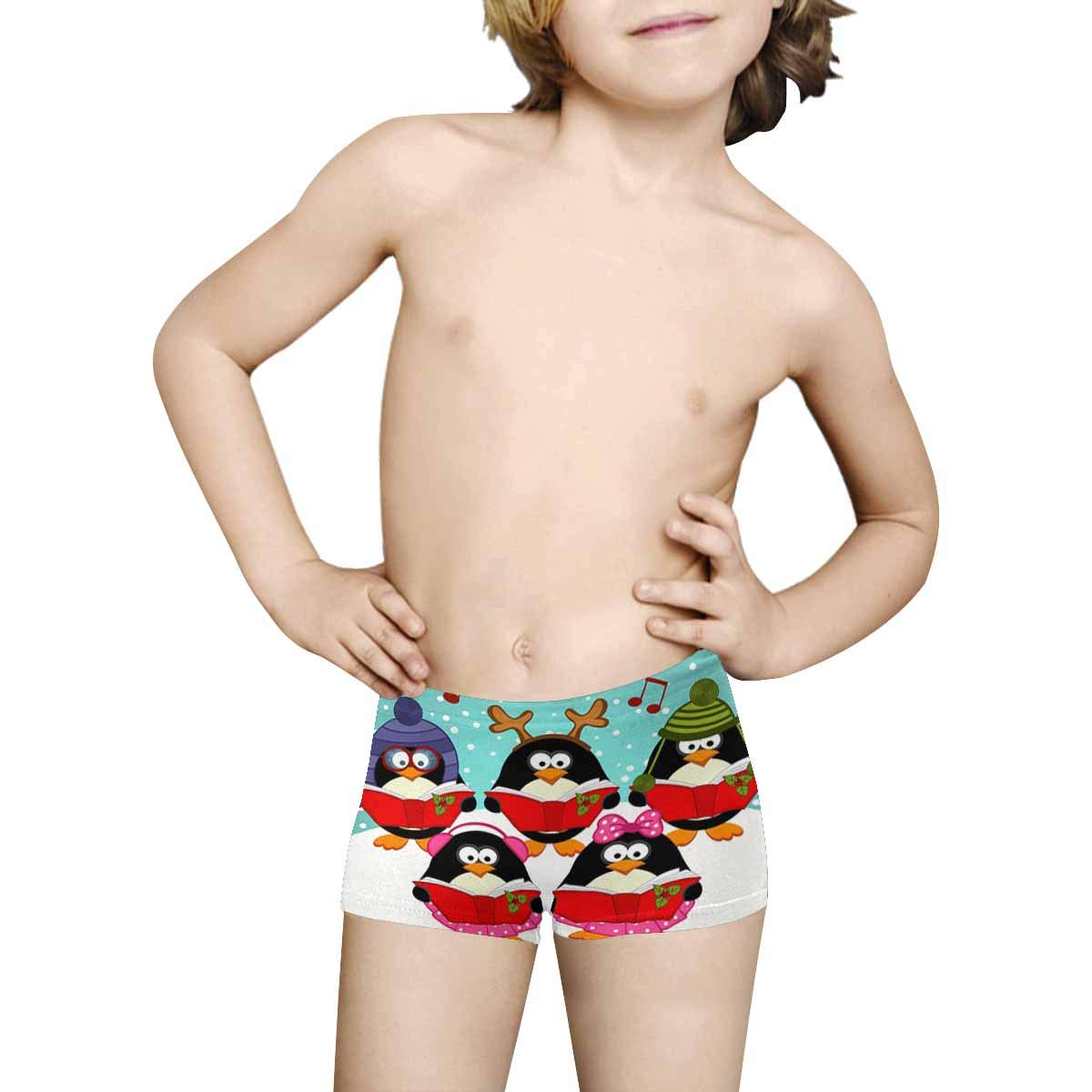 INTERESTPRINT Boys All Over Print Boxer Briefs 5T-2XL
