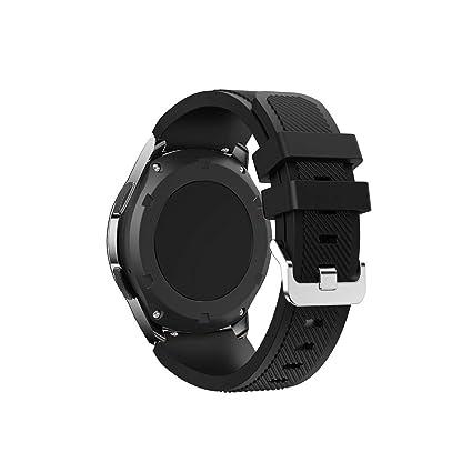 Amazon.com: Smartwatch Strap for Gear S3 Watch Strap 20 22Mm ...