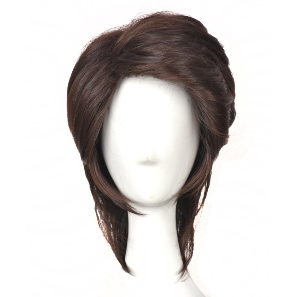 Yuehong Custom Cosplay Wig Short Brown Unisex Fashion Hair For Men Party Costume Wig by yuehong
