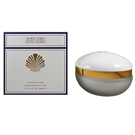 Estee Lauder White Linen Perfumed Body Creme for Women, 6.7 Ounce