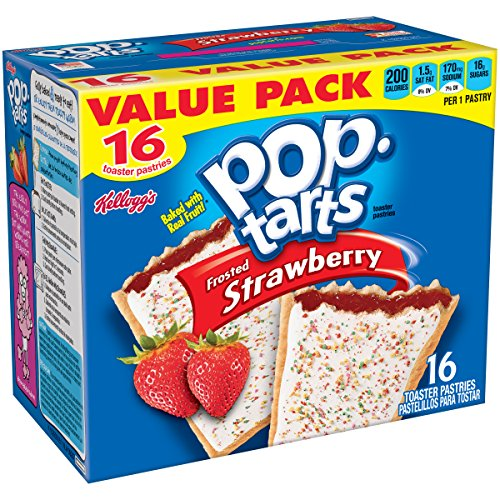 Pop Tarts Frosted Strawberry 16 Count product image