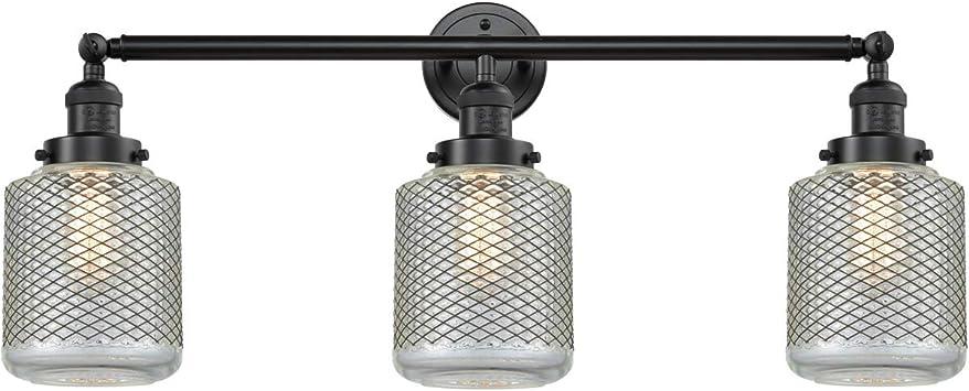 Innovations 205-OB-S-G191 3 Light Adjustable Bathroom Fixture Oil Rubbed Bronze