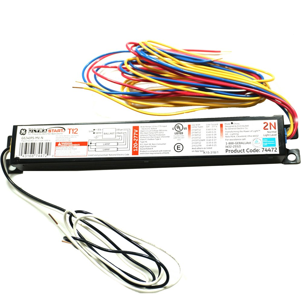t12 to t8 ballast wiring diagram two lamp ballast wire