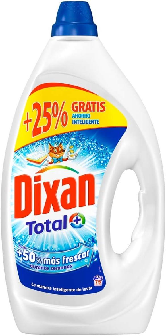 Dixan Detergente Líquido - 75 Lavados (3.75 L): Amazon.es ...