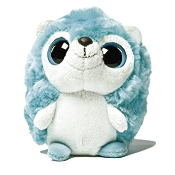 YooHoo & Friends - Peluche con ojos brillantes Hedgie, 13 cm, color azul (