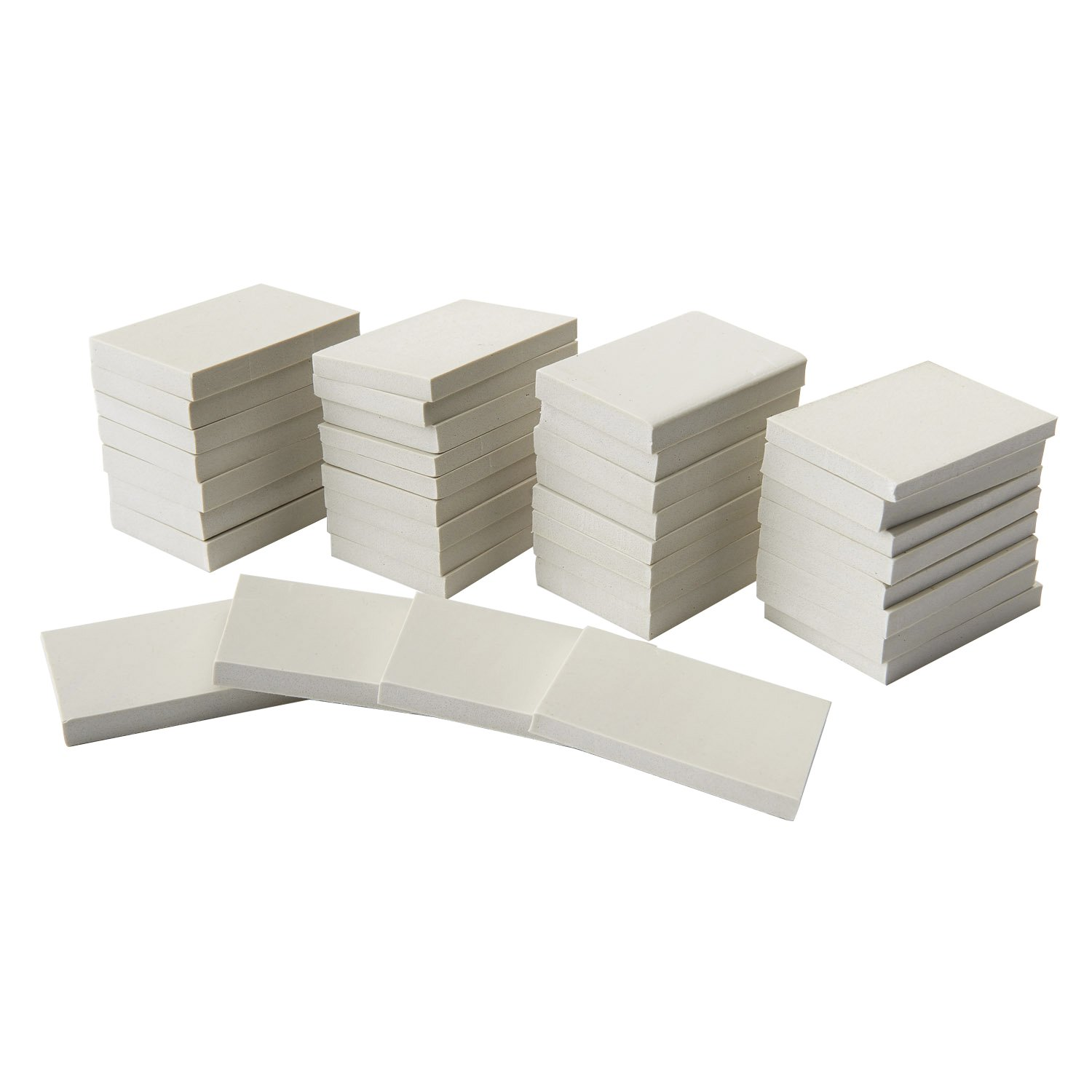 "Nasco Safety-Kut Artist Carving Blanks Classroom Pack of 36 - 2"" x 3"" x 3/8"" Blanks"