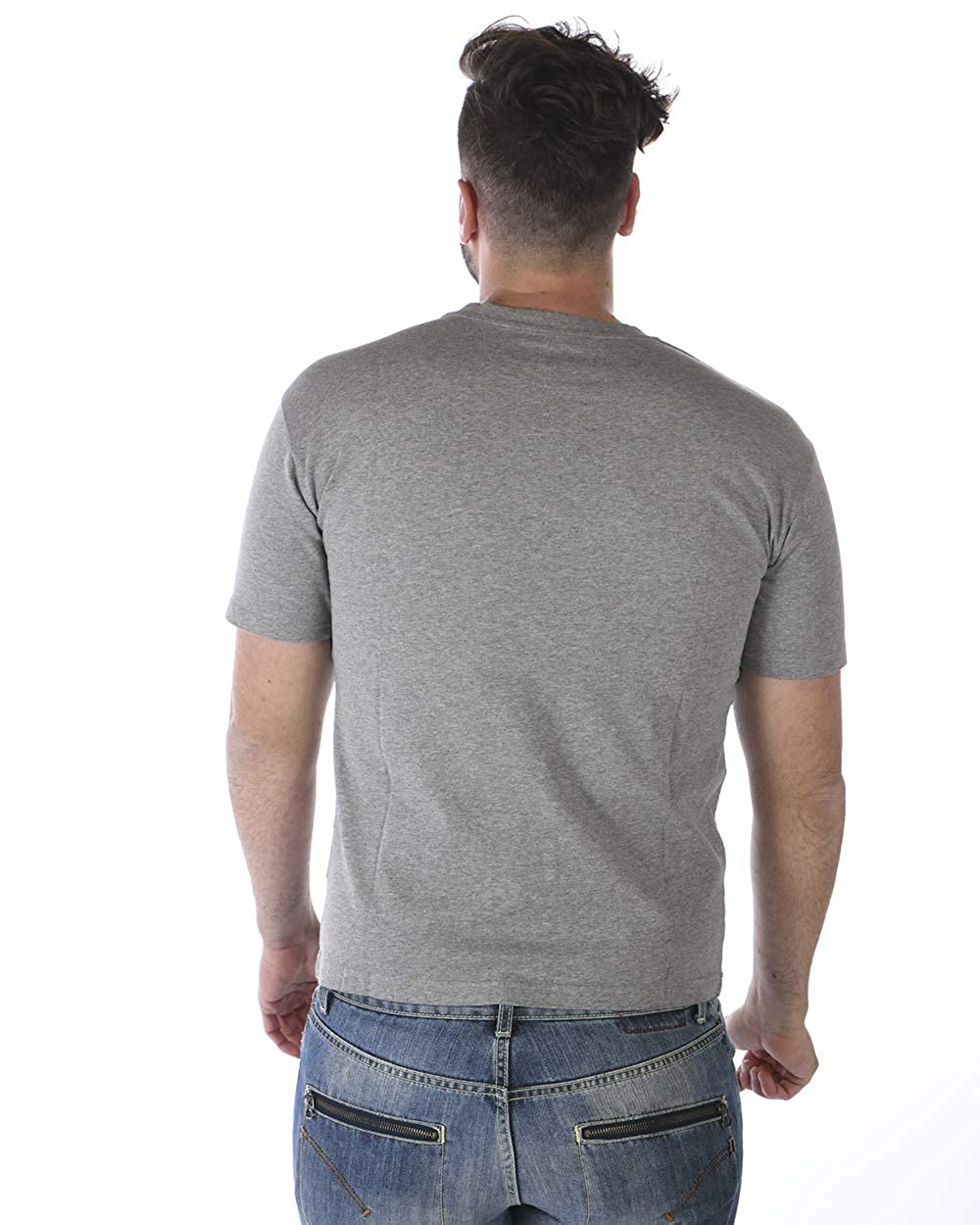5b204b30 Amazon.com: Kenzo Men's Leopard Tiger Grey Cotton T-Shirt: Clothing