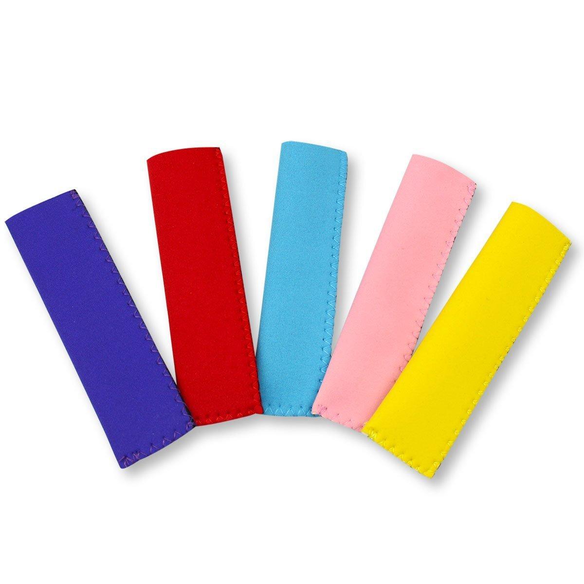 Romote Popsicle Moldes bolsas con 5 libres de hielo Pop mangas, Naisidier 150Pcs desechable DIY del hielo del molde Pop Bolsas: Amazon.es: Hogar