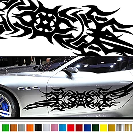 Amazoncom Tribal Car Sticker Car Vinyl Side Graphics Car - Motorcycle tribal custom stickers designmotorcycle sticker tribal promotionshop for promotional