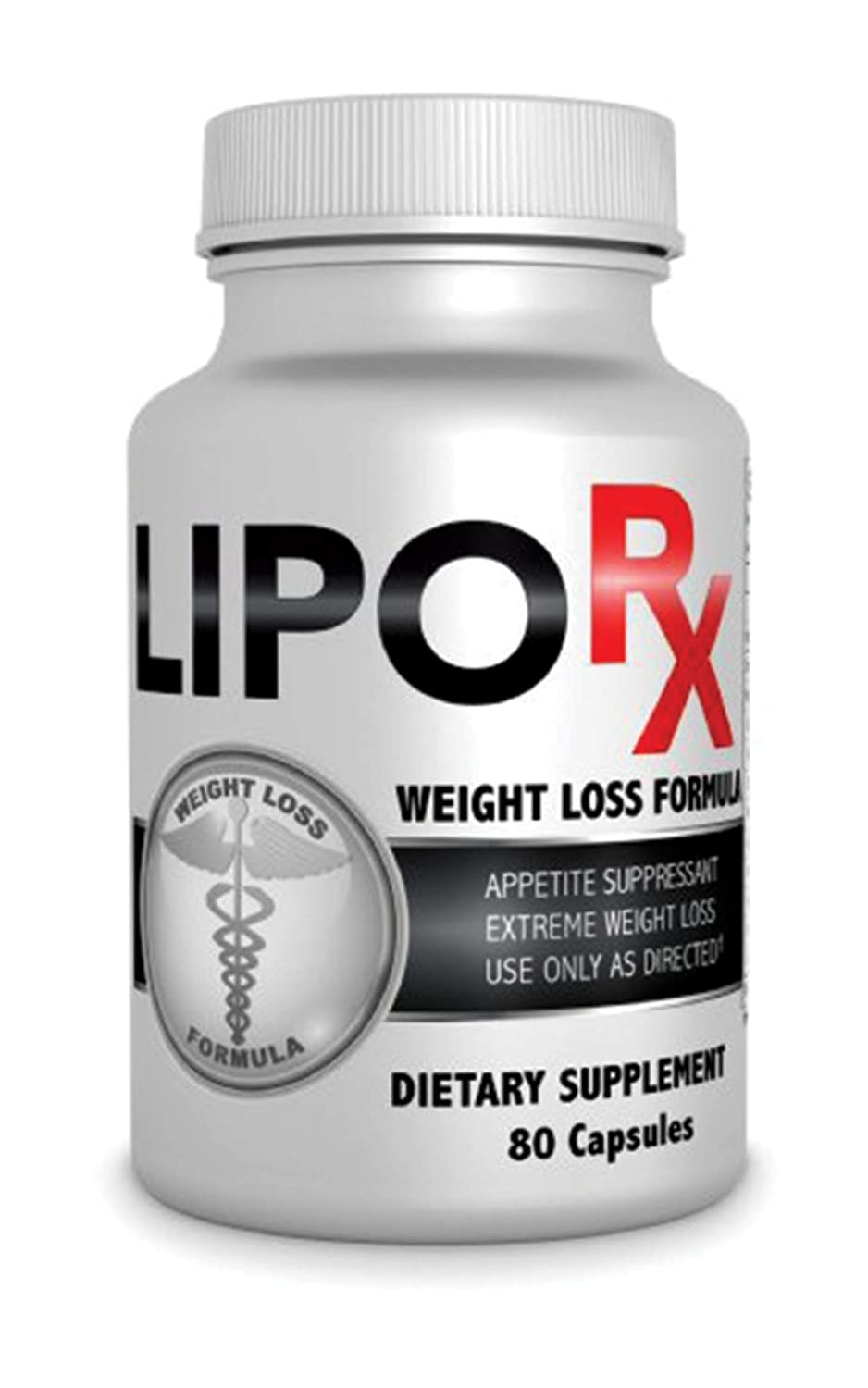 Lipo RX Extreme Diet Pills- Powerful Diet Supplement for Rapid Weight Loss- Formulated for Women and Men- Burn Fat Fast- 80 Capsule