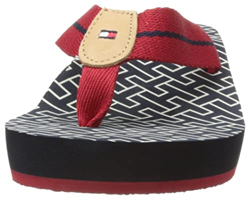 dfdba71c168a Tommy Hilfiger Womens Mona 4D Thong Sandals FW56816801 Tango Red 4 ...