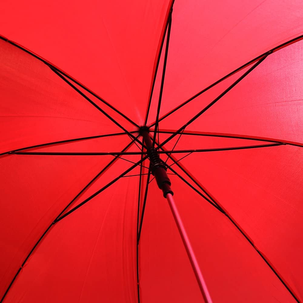 CKB Products Wholesale 48 Auto Open Solid Red Umbrella