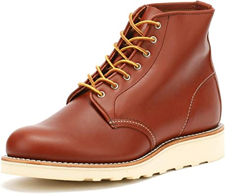 Red Wing Womens 6 Inch Round Leather