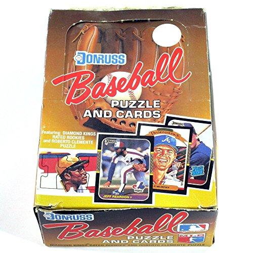 1987 Donruss Baseball Card Hobby Box