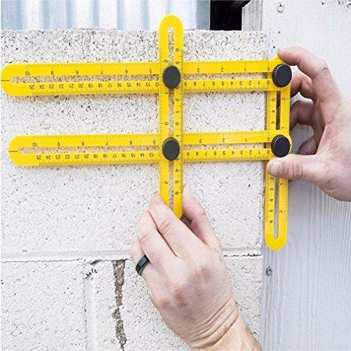 [해외]각도 눈금자, 각도 측정 도구, Lookatool 새로운 다기능 각도 모델 각도 눈금자 플라스틱 측정 도구/Angle Ruler, Angle Measurement Tool, Lookatool New Multifunct