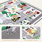 ARTBECK Kids Playmat Baby Educational Area Rug Baby