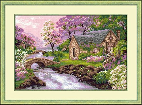 Riolis R1098 Counted Cross Stitch Kit, 15 by 10.25-Inch, Spr