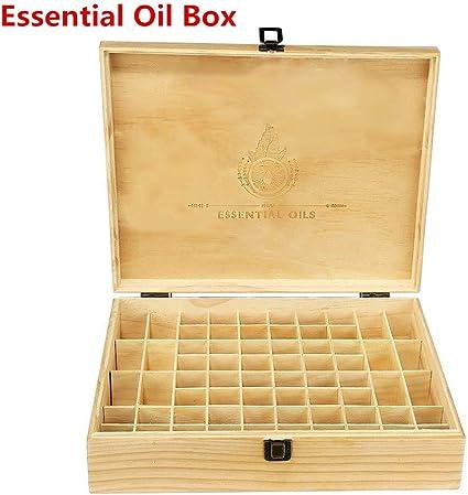 Timegoing - Caja de almacenaje para aceites Esenciales, Caja de ...