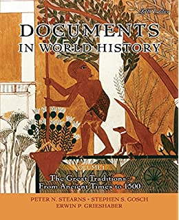 Amazon world civilizations the global experience volume i documents in world history volume 1 5th edition fandeluxe Choice Image