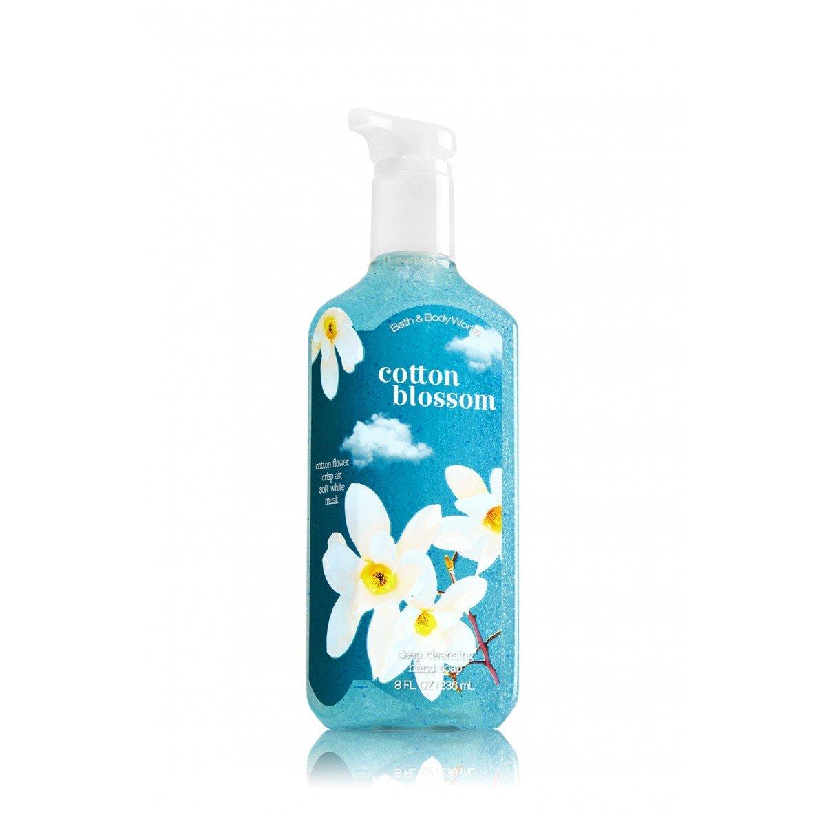 Amazon.com : Bath & Body Works Deep Cleansing Hand Soap Cotton ...