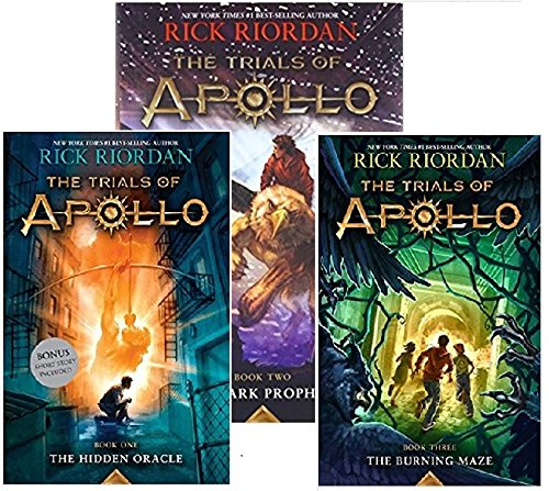 Trials Of Apollo 3 Book Set  The Hidden Oracle  The Dark Prophecy  The Burning Maze