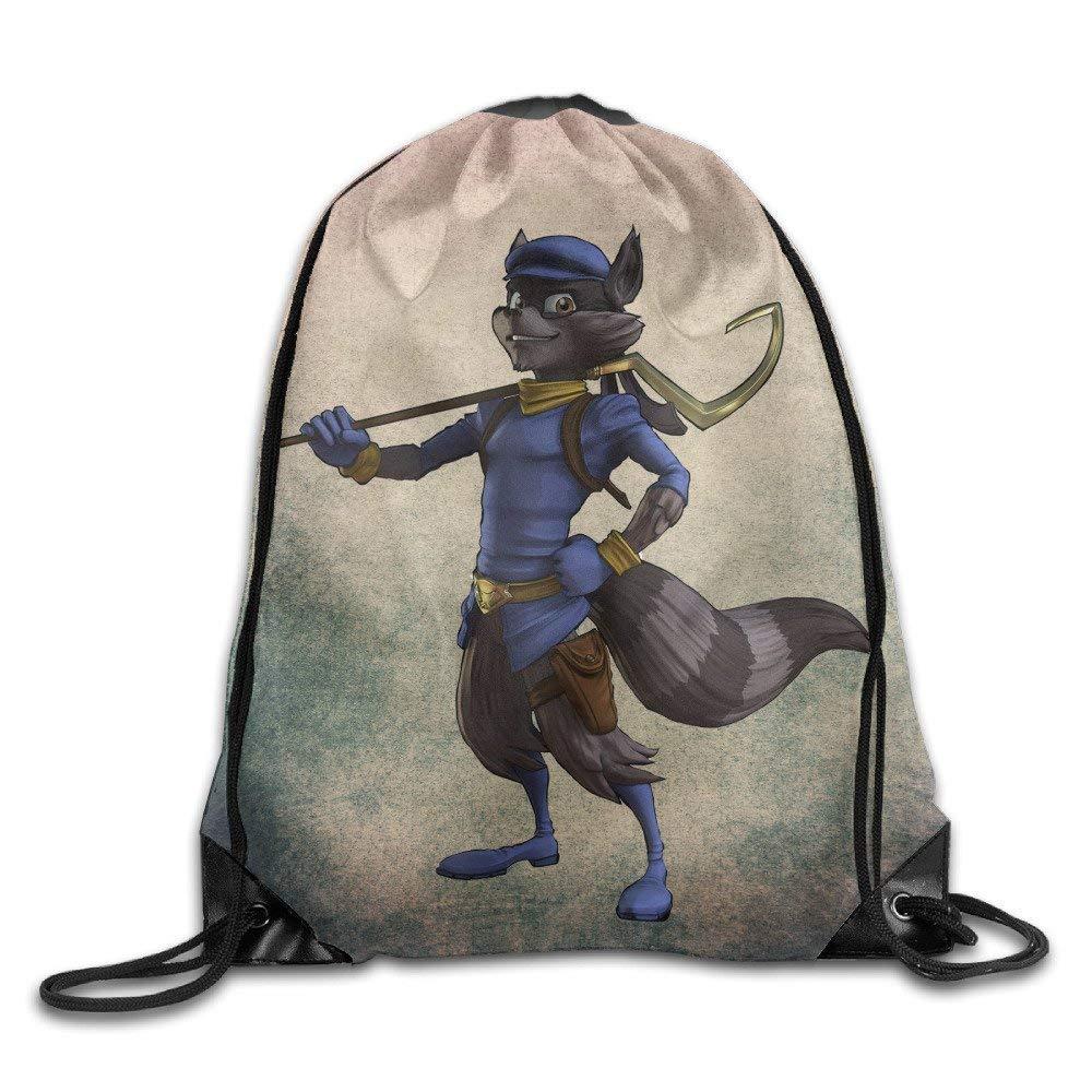 Icndpshorts Drawstring Bag Sly Cooper Video Game