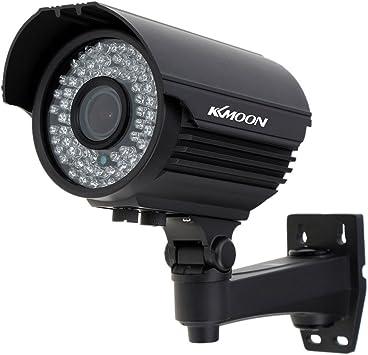 Opinión sobre KKmoon Camara Bala de Vigilancia (1200TVL, CCTV 1/3