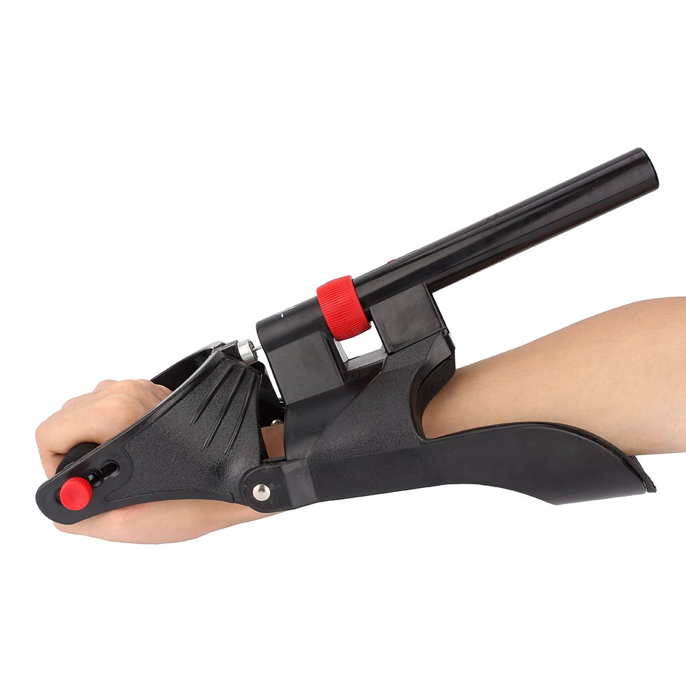 Yosoo Forearm Power Wrist Muscle Arm Hand Strength Training Exerciser Developer Grip Gym Fitness Sport Exerciser Exercise Machine Adjustable Support Work Out Builder by Yosoo