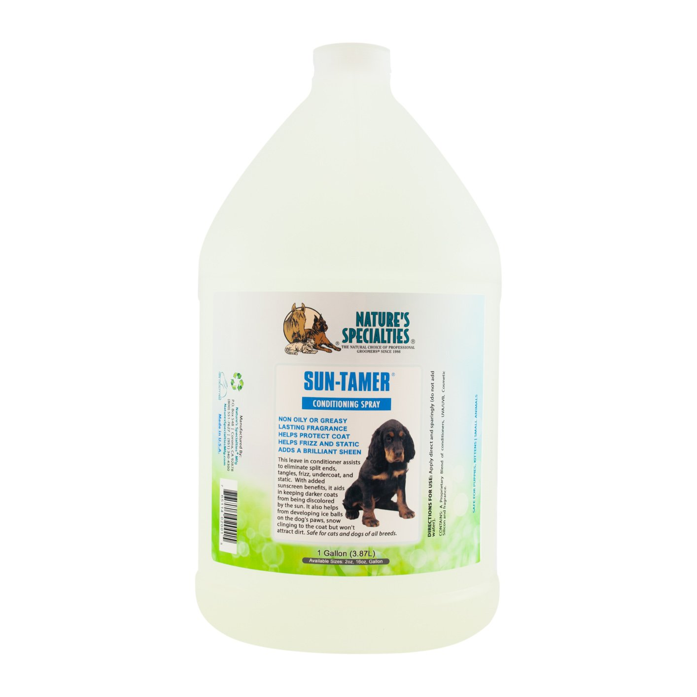 Nature's Specialties Sun Tamer Leave in Pet Conditioner with UVA/UVB by Nature's Specialties Mfg