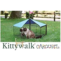 Carousel Outdoor Cat Enclosure Green