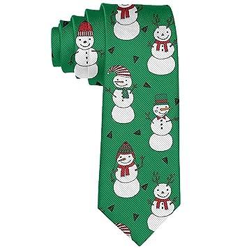 Regalo de corbata de muñeco de nieve de Navidad para hombre ...