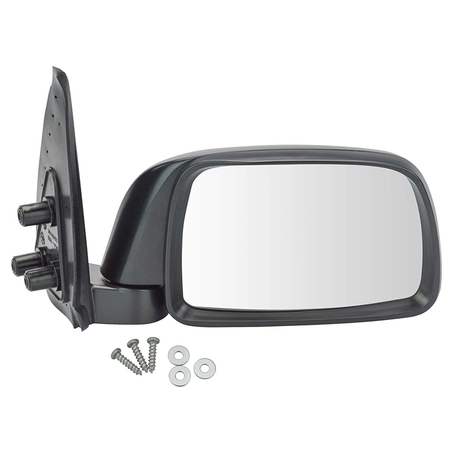 Folding Manual Side View Mirrors Pair Set for 95-99 Tacoma Pickup Truck