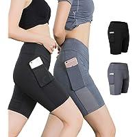 Kuty Pantalón Corto Deportivo para Mujer, Running Pantalones