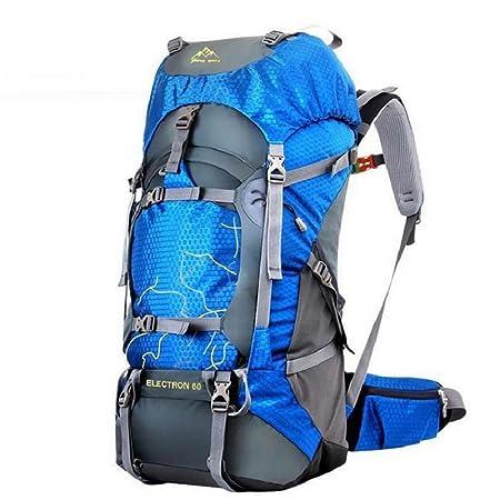 Fengtu 60L Outdoor Sport Bags Water-Resistant Hiking Backpack for Men and Women Trekking Bag Backpacking Climbing Backpack Camping Backpack Travel Backpack Mountaineering Backpacks