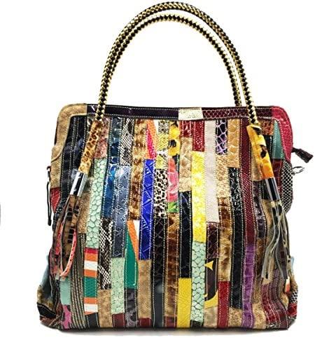 女性の本物の革のハンドバッグショルダーメッセンジャーバッグは、ショッパーバッグをトート YZUEYT