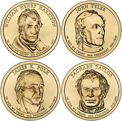2009 D Complete Set of all 4 Presidential Dollars Uncirculated