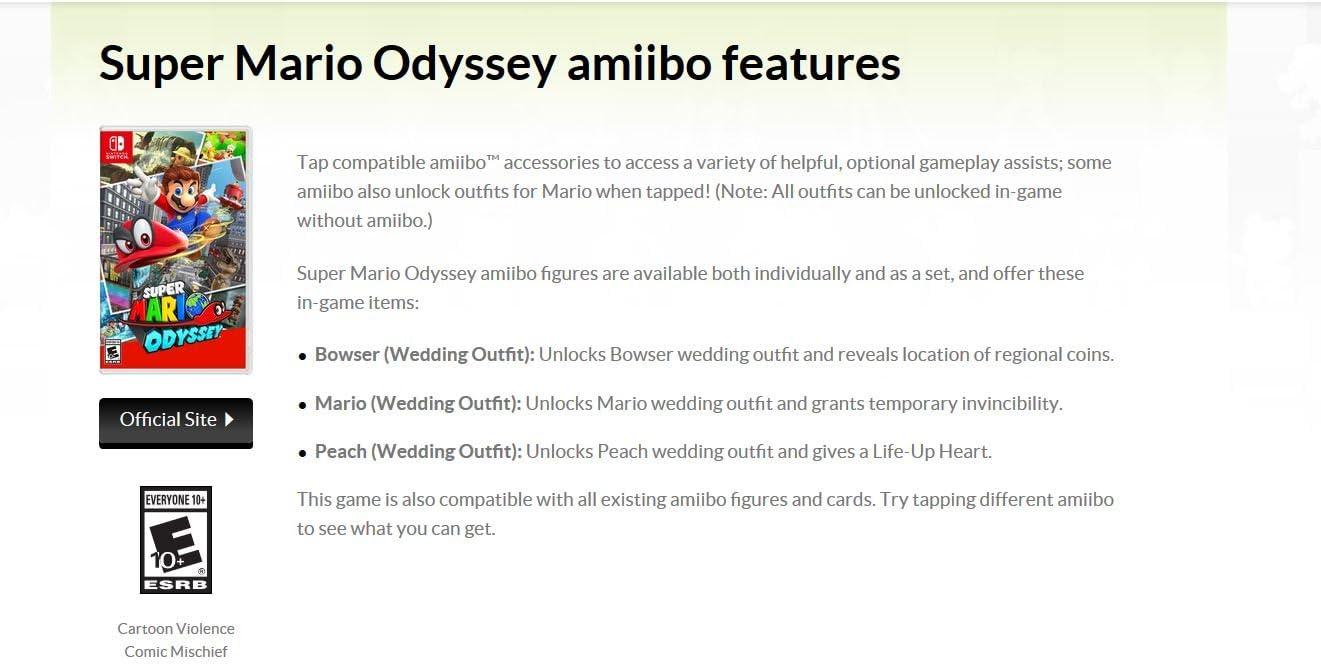 Amazon Com Super Mario Odyssey Nintendo Switch Nintendo Of