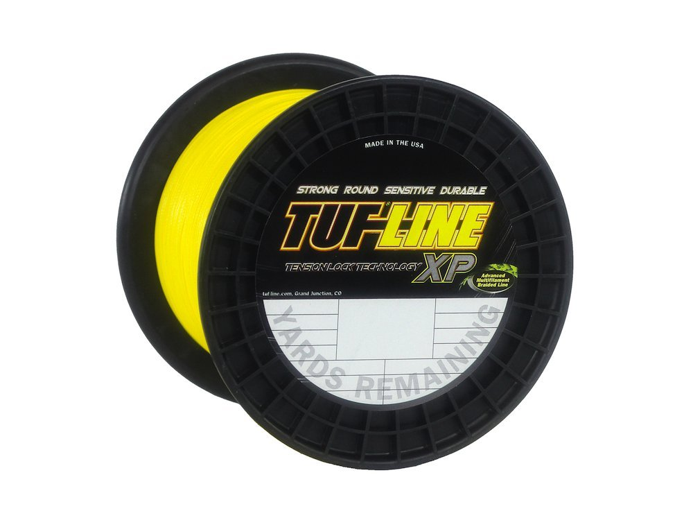 Tuf-Line XP 1200 Yard Fishing Line (Yellow, 65-Pound)
