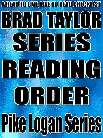 Brad taylor books in order